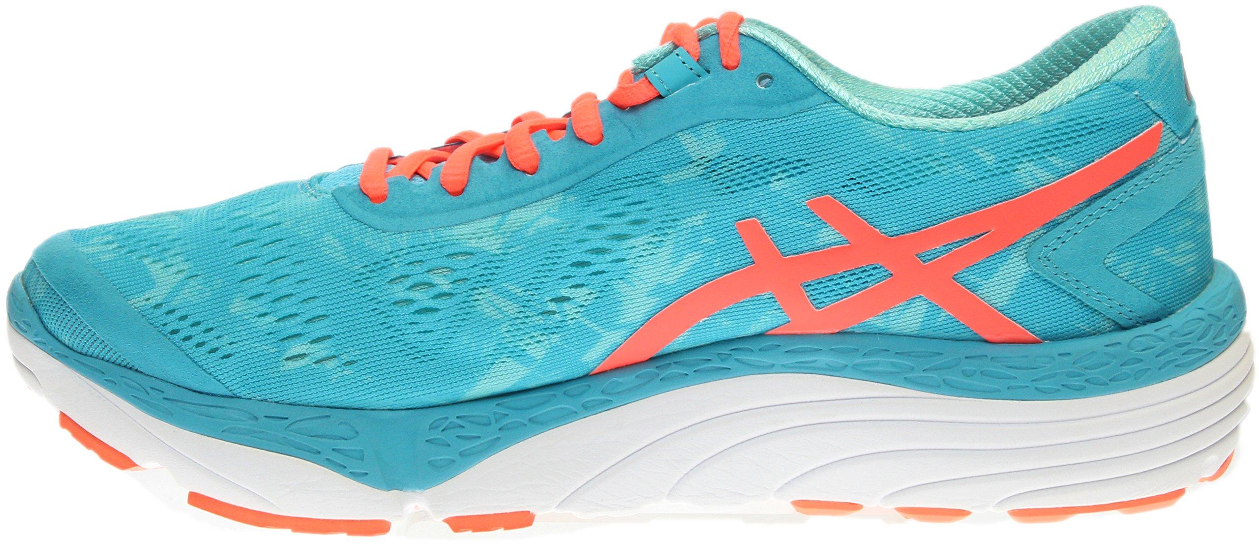 ASICS Women's 33-M 2 Running Shoe, Aquarium/Flash Coral/Aruba Blue, 9.5 M US by ASICS (Image #4)