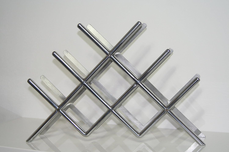 Unbekannt Ikea Flaschenregal Blakande Regal Aus Metall Fur 8