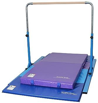 efd752f07d32 Tumbl Trak Gymnastics Junior Bar Pro Package with Tumbling Mat, Junior  Practice Mat and Bar