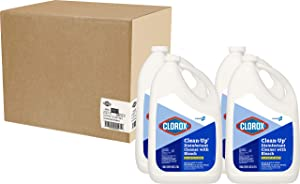 Clorox Commercial Solutions Clorox Clean-Up All Purpose Cleaner with Bleach -Original, 128 Ounce Refill Bottle, 4 Bottles/Case (35420)