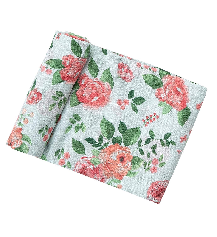 Angel Dear Rose Garden Swaddle