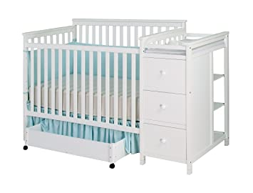 Shermag Florence Convertible Crib N Changer Combo White Amazon Ca