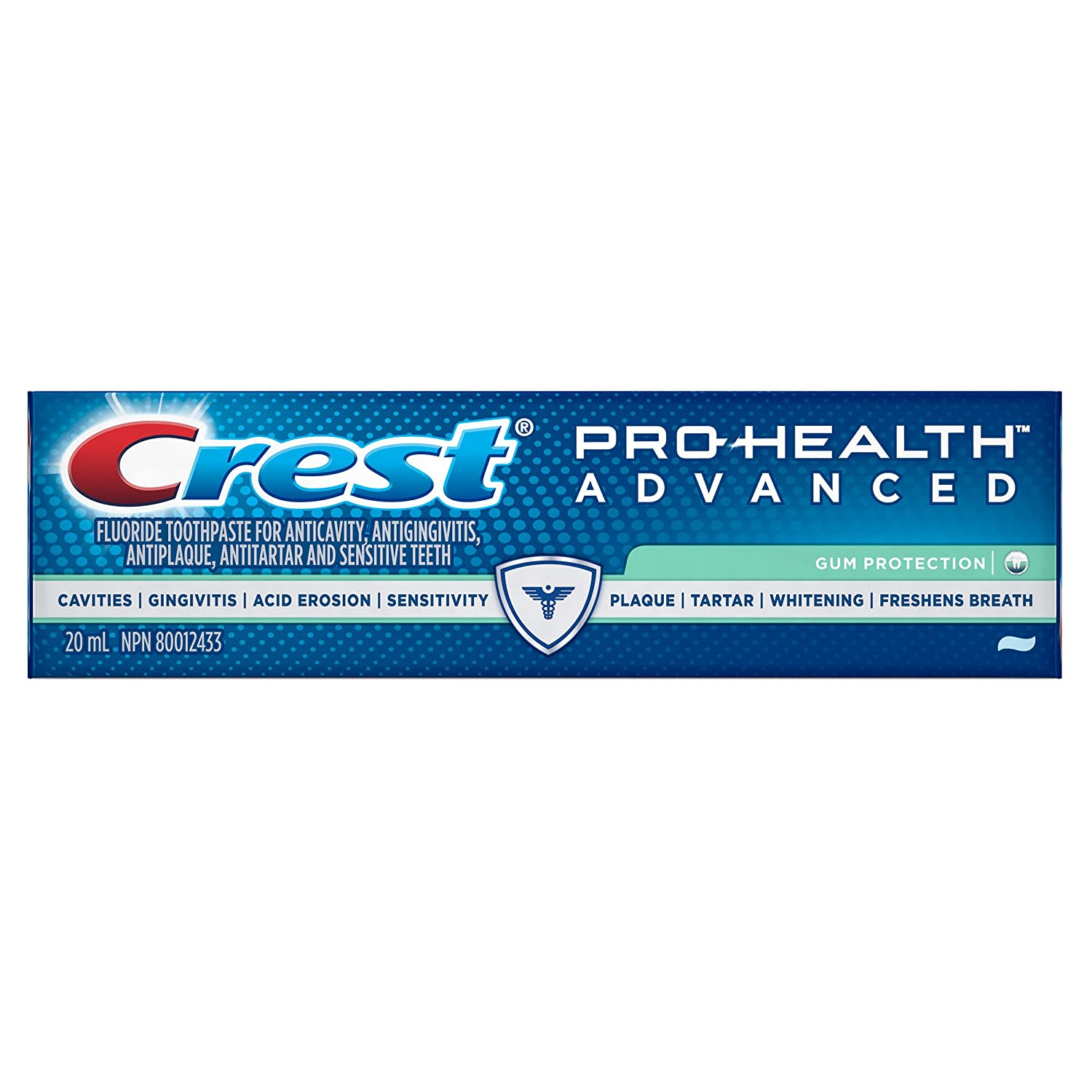 Crest Pro-Health Advanced Gum Protection Toothpaste, 20 ml