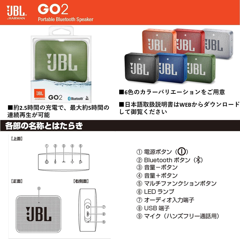 Jbl Go 2 Red Pc Speaker Mp3 Hifi