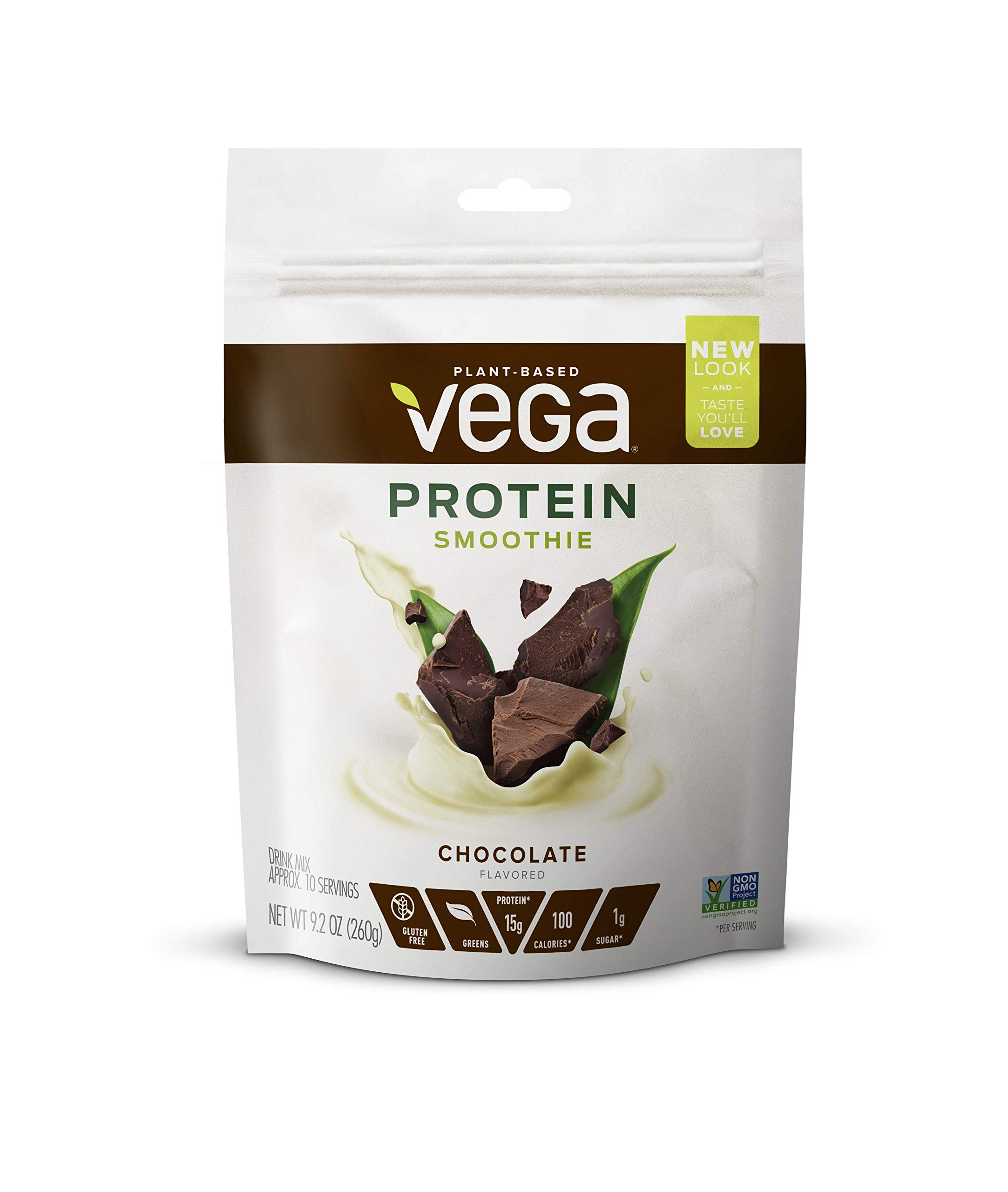 Vega Protein Smoothie Bodacious Berry 12 Servings 92 Chilschool Vanila 800 Gr 2 Box Choc A Lot Pouch Oz