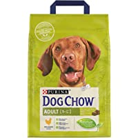 Purina Dog Chow Adult (+1 year) with Chicken Dry Dog Food bag 2.5kg