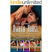 Omega House Tomes 1-5: M/M Non Shifter Alpha Omega MPreg Romance (French Edition) book cover