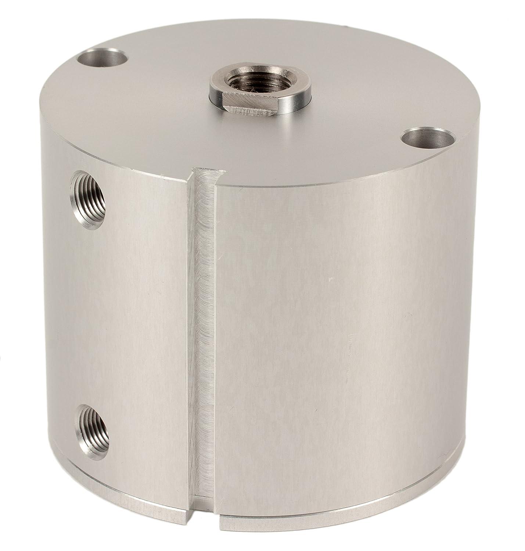 Fabco-Air E-321-X-E Original Pancake Cylinder, Double Acting, Maximum Pressure of 250 PSI, Switch Ready with Magnet, 2' Bore Diameter x 1-1/2' Stroke 2 Bore Diameter x 1-1/2 Stroke FAB   E-321-X-E