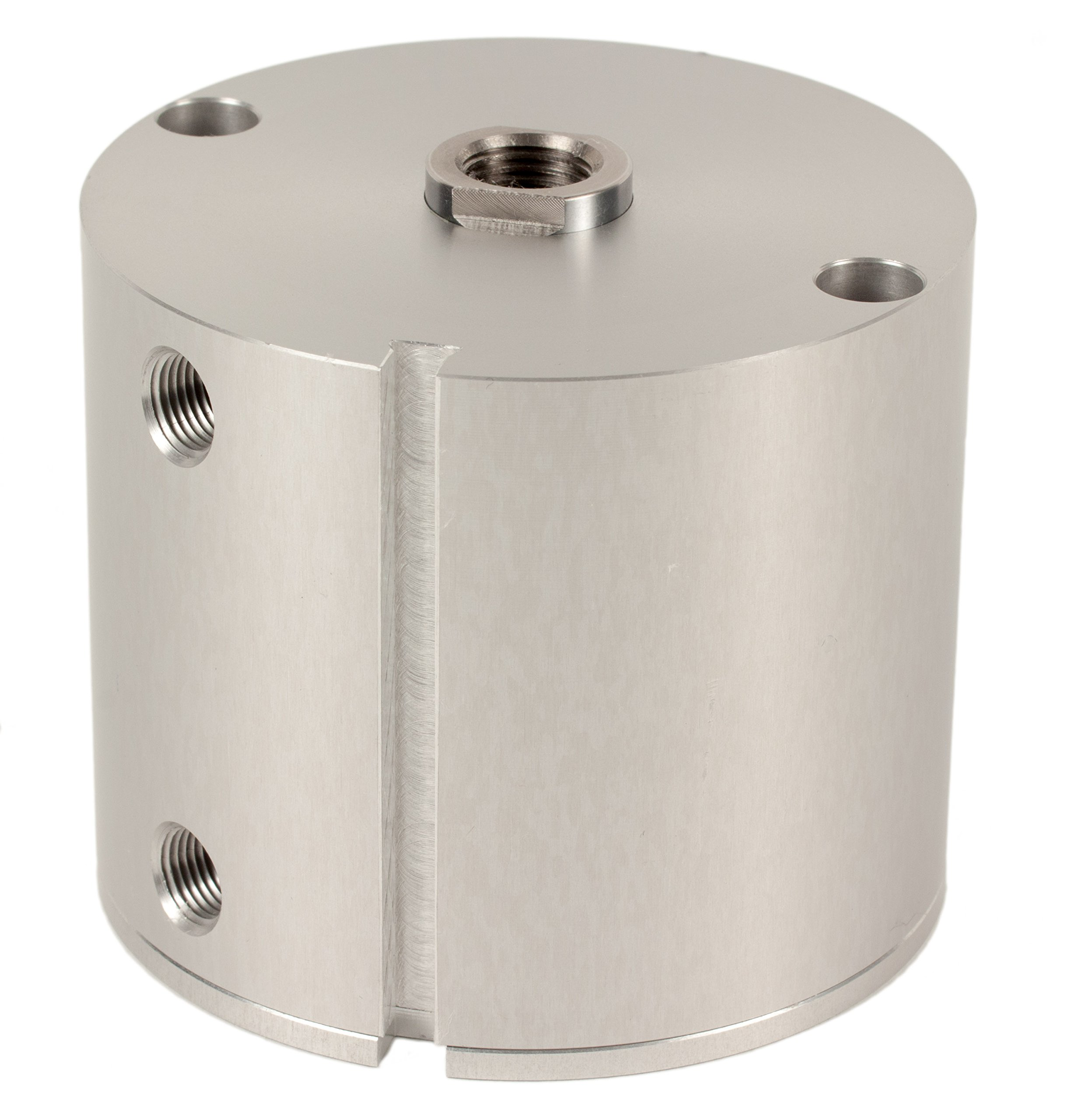 Fabco-Air E-321-X-E Original Pancake Cylinder, Double Acting, Maximum Pressure of 250 PSI, Switch Ready with Magnet, 2'' Bore Diameter x 1-1/2'' Stroke