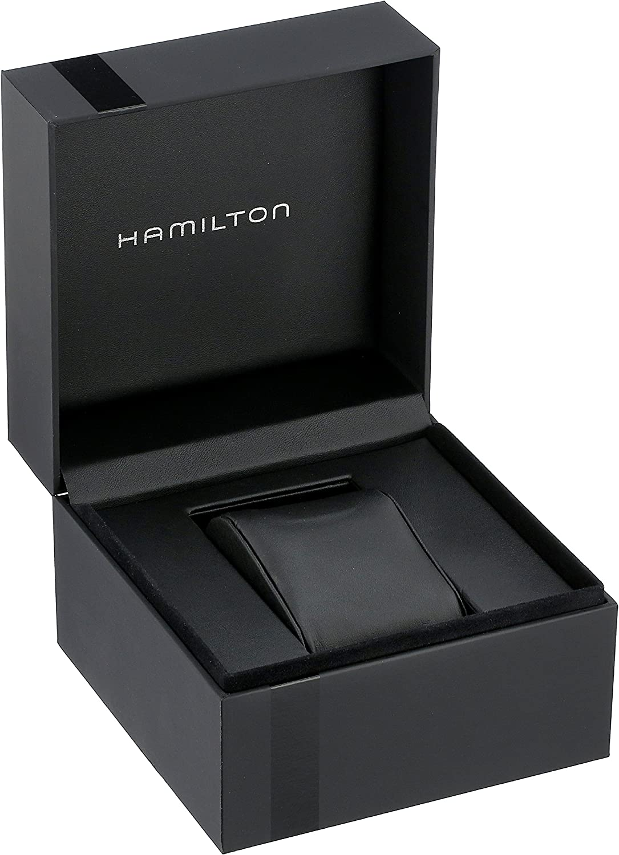 B003XGN3TI Hamilton Mens H24411732 Ventura Stainless Steel Watch with Black Leather Band 71u4HJ-xG4L.UL1500_