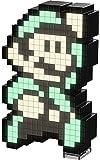 PDP Pixel Pals Nintendo Super Mario 3 Luigi Collectible Lighted Figure, 878-032-NA-LM3