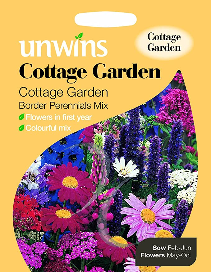 Unwins cottage garden border perennials mix seeds amazon unwins cottage garden border perennials mix seeds amazon garden outdoors mightylinksfo