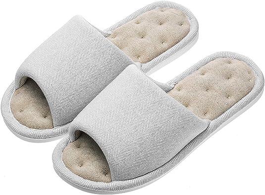 Unisex Adults Flip Flops Sandals Slipper Home Flats Open Toed Slide Shoes XMAS Reindeer