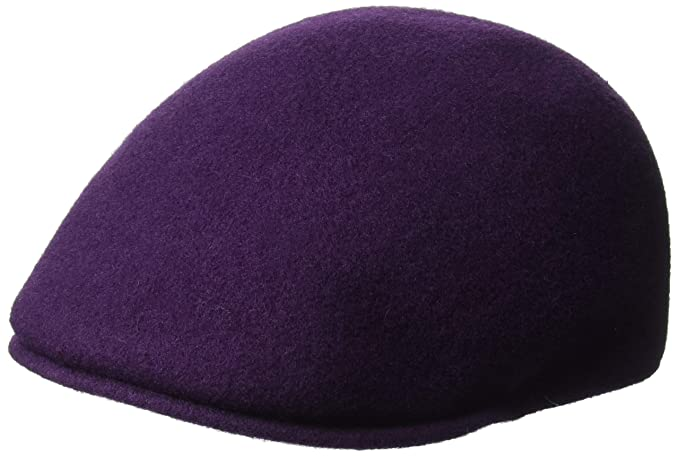 Kangol Hat 507 Seamless Flat Cap K0875FA Purple(Velvet)  Amazon.co ... 9afa5d1b20f