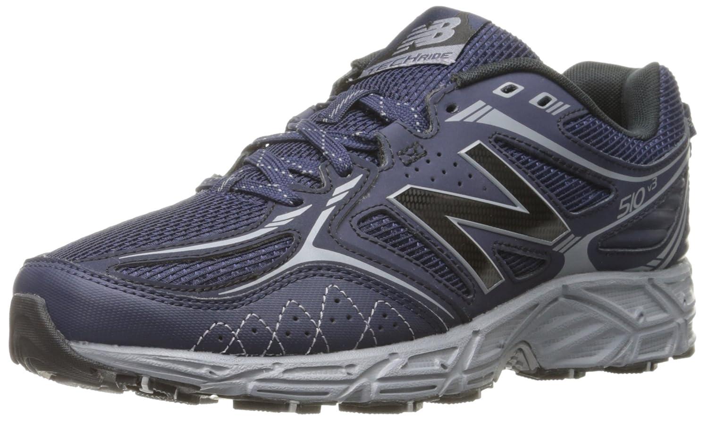 New Balance Men's 510v3 Trail Running Shoe B0164A2DHW 8 D(M) US|Navy/Silver