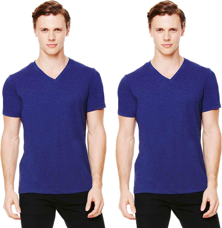 Bella Triblend Mens V-Neck Short Sleeves Slightly Fitted Side Seams Man T-Shirts