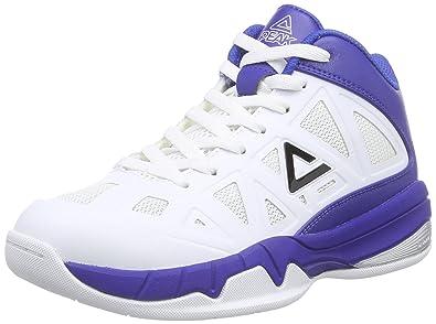 f9a86913b0f Peak Sport Europe Unisex Kids' PEAK Sport Europe Basketballschuh Victor Y  Basket Shoes, Bianco