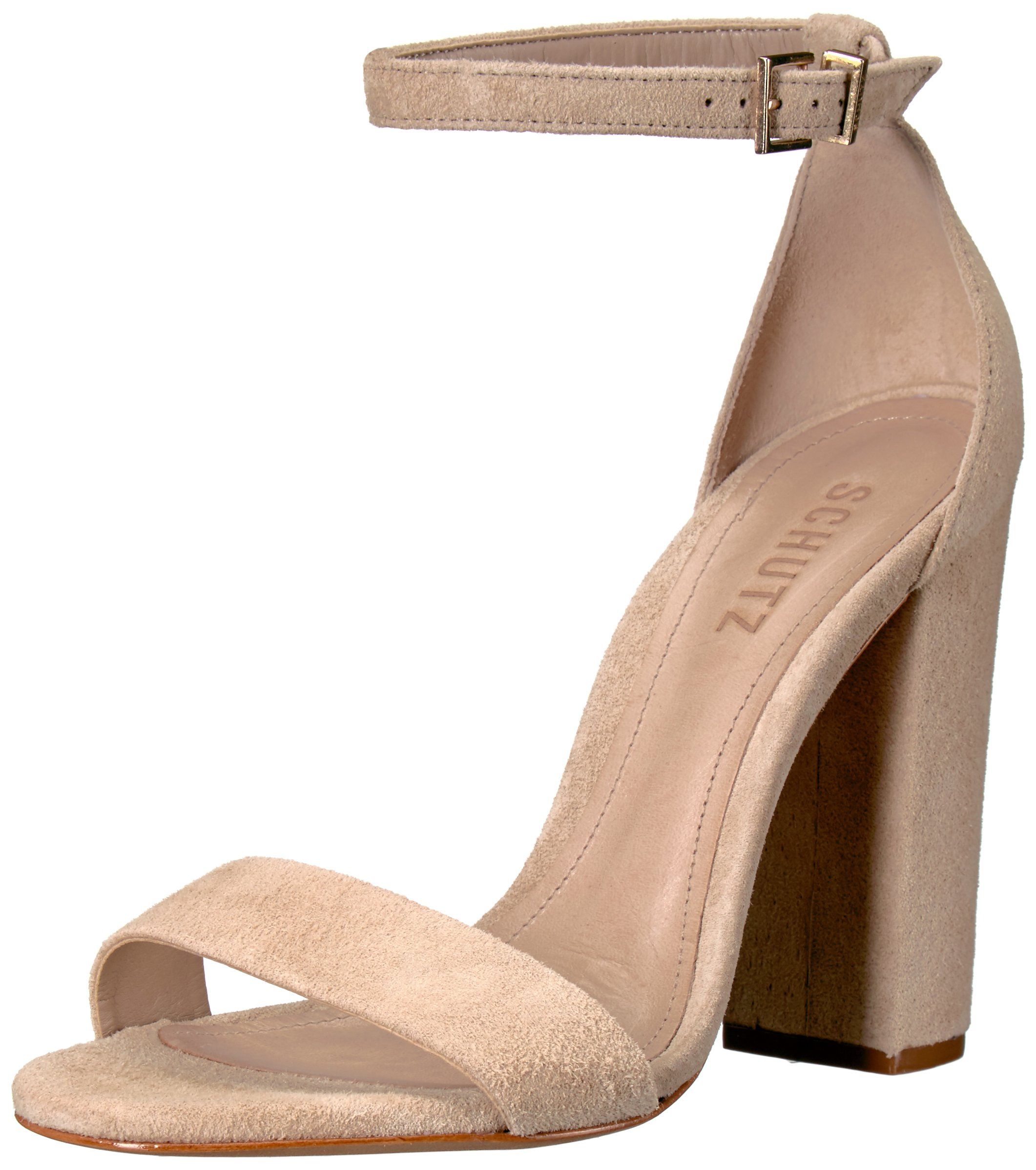 SCHUTZ Women's Enida Dress Sandal, Oyster, 7.5 M US