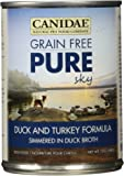 CANIDAE Grain Free PURE Adult Dog Wet Food Lamb, Turkey & Chicken Formula, 13 oz (12-Pack)