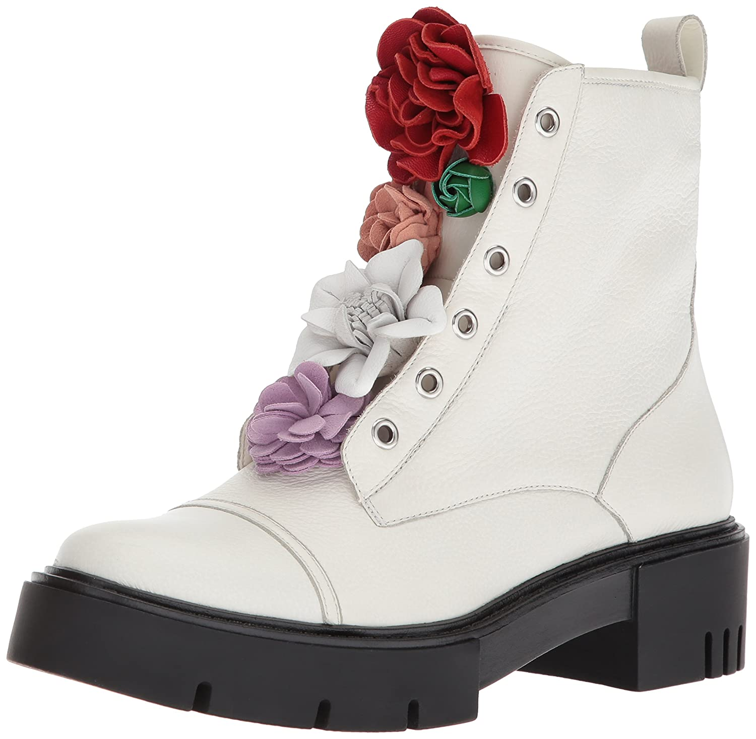 Katy Perry Women's The Bliss Combat Boot B073DXTV9D 7 B(M) US|Ivory