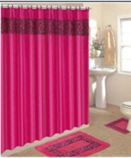 Lovely Roman Bath Store Toronto Big Bath Vanities New Jersey Shaped Small Country Bathroom Vanities Bathroom Water Closet Design Young Majestic Kitchen And Bath Nj Reviews BlueFrench Bathroom Wall Sign Amazon.com: 17 Piece Bath Accessory Set  Pink Zebra Shower Curtain ..