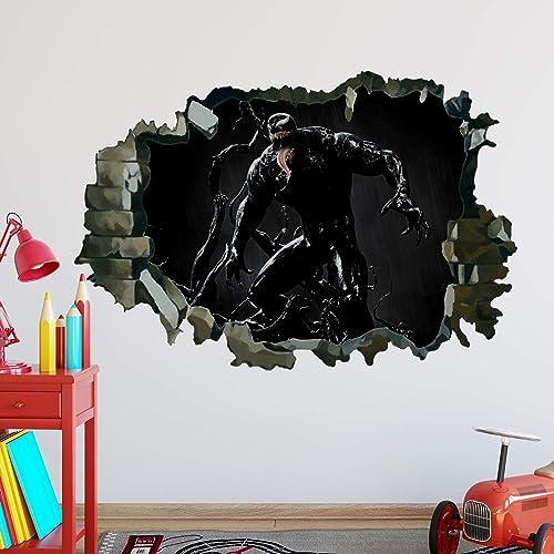 Marvel Spider Man Sticker Decals Wall DECOR Clings Children Bedroom Decor