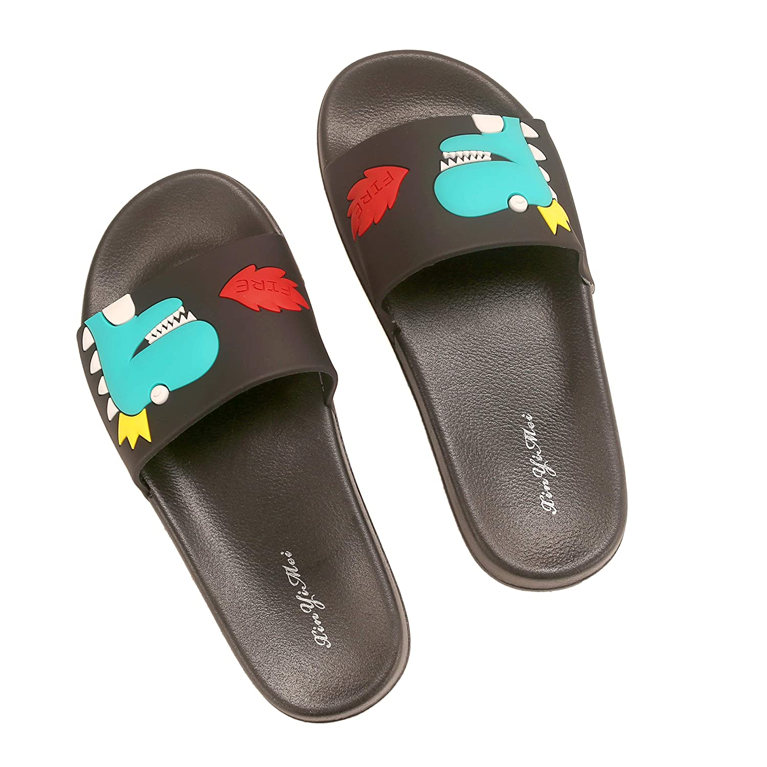 Anddyam Kids Family Household Sandals Anti-Slip Indoor Outdoor Home Slippers for Girls and Boys