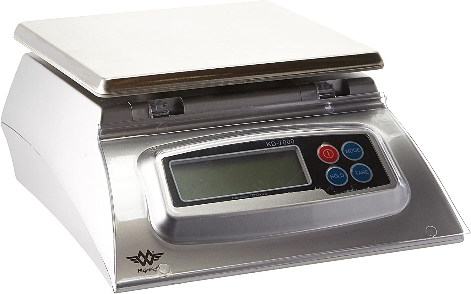 My Weigh 7000-Gram Kitchen Food Scale,Silver