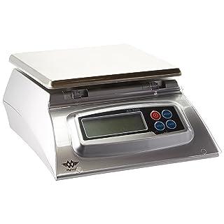My Weigh 7000-Gram Kitchen Food Scale,Silver