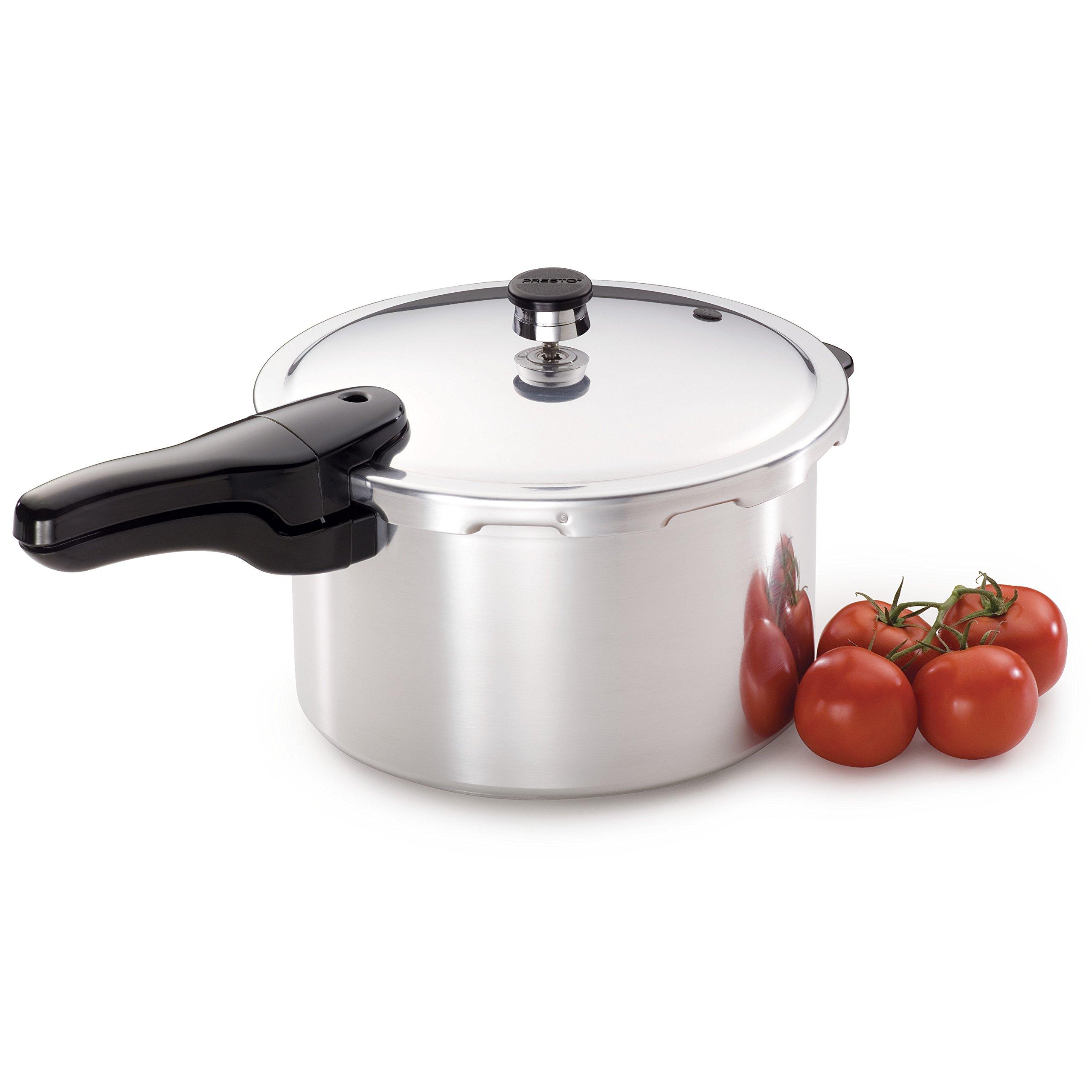 Presto 01282 8-Quart Aluminum Pressure Cooker by Presto (Image #3)