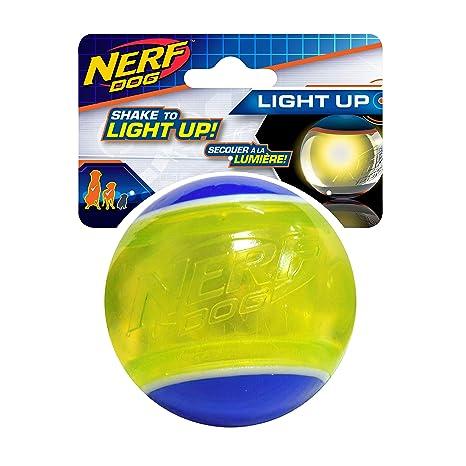 Nerf - Pelota de Tenis LED para Perro (3,25