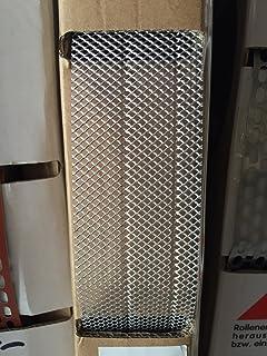 Fassade L/üftungsgitter Marderschutz L/änge 2,0 m Aluminium Fassadenprofile 20 Stab L/üftungswinkel 30x50 mm beidseitig oval gelocht