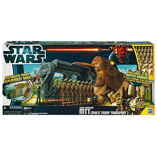 Amazon Star Wars Mtt Droid Carrier Vehicle Toys Games