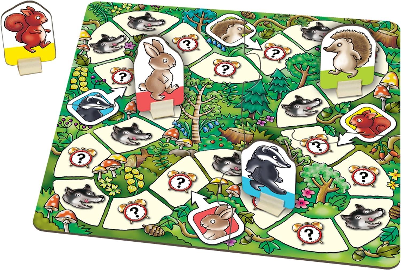 Orchard Toys - Juego de Mesa «Whats The Time, Mr Wolf?»: Amazon.es: Juguetes y juegos