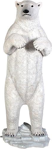 Design Toscano NE110036 Massive Arctic Polar Bear Garden Statue