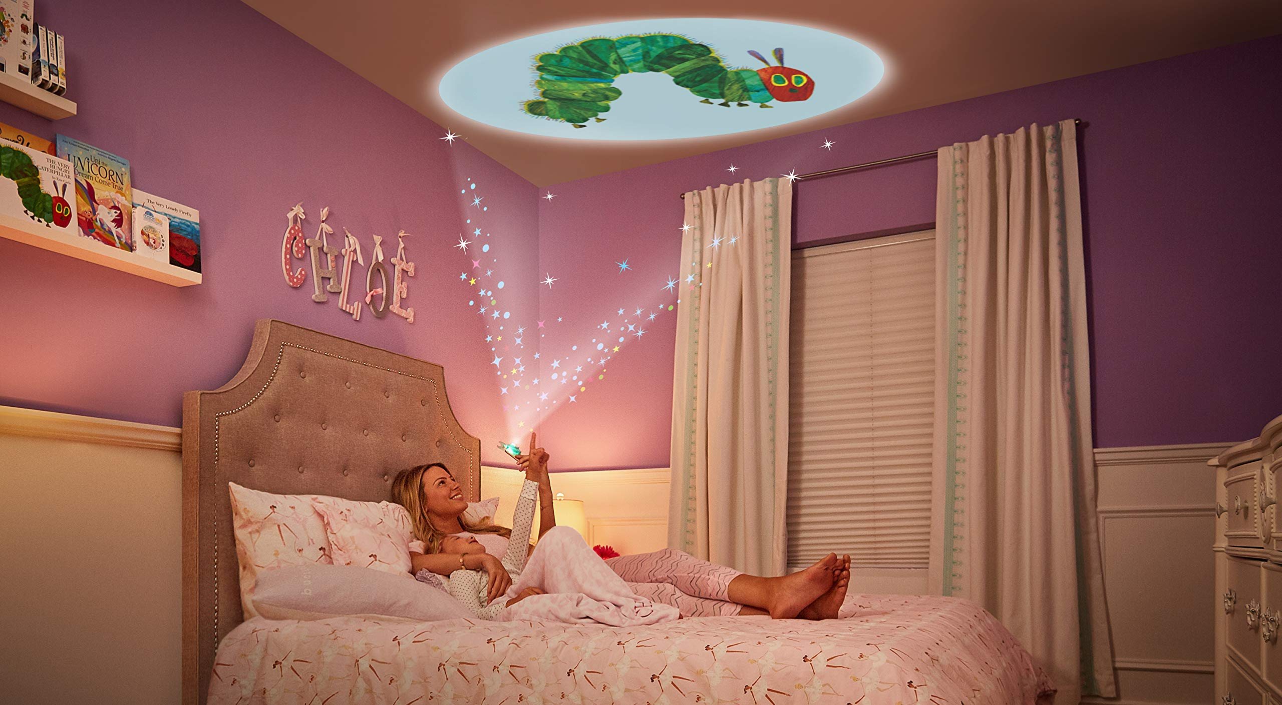 Moonlite - Eric Carle Junior Starter Pack, Storybook Projector for Smartphones with 2 Story Reels, For Ages 1 and Up by Moonlite (Image #6)