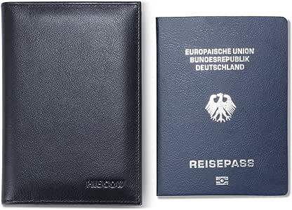 hiscow Classic Bifold estándar – Funda para pasaporte, color – italiano cuero: Amazon.es: Equipaje