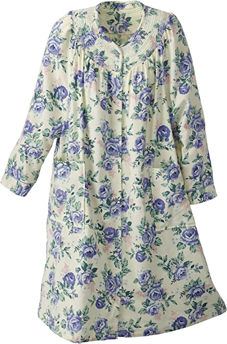 e77444ad82 National Floral Flannel Duster