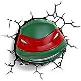 Raphael 3D Deco Light, Teenage Mutant Ninja Turtles-Red and Green