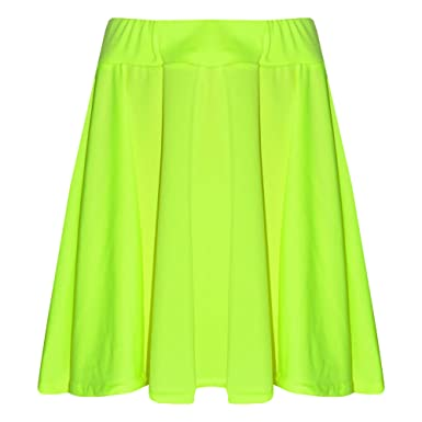 0d7b81e6ad781 A2Z 4 Kids® Girls Skirts Kids School Fashion Summer Skater Skirt New Age 5 6  7 8 9 10 11 12 13 Years  Amazon.co.uk  Clothing