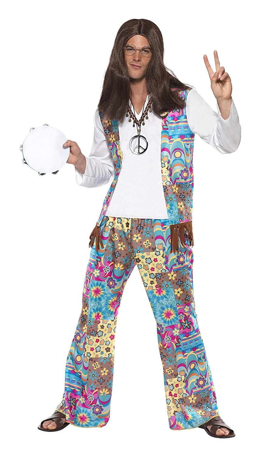 60s -70s  Men's Costumes : Hippie, Disco, Beatles Groovy Hippie $22.27 AT vintagedancer.com