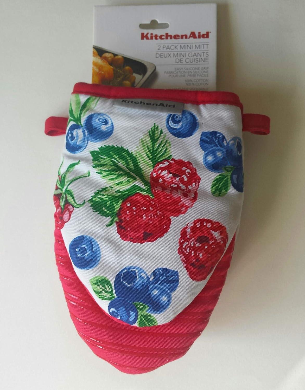 KitchenAid 2 Mini Mitt, Berries