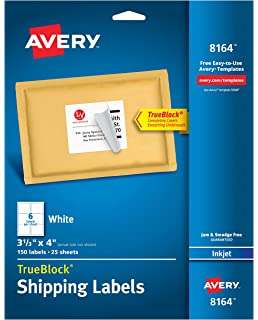 amazon com avery shipping address labels laser printers 600