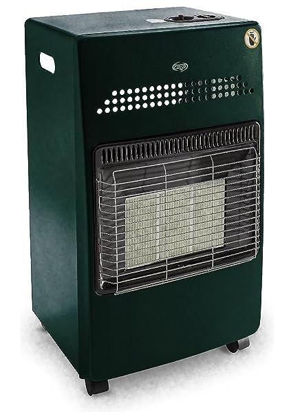 Argo Hanna Green Estufa infrarrojos a gas GLP – Bombona – 4100 W Verde
