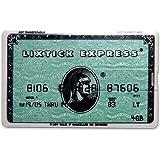 LIXTICK USB CARD MEMORY [Creditcard Ⅱ]カード型USBメモリー 4GB