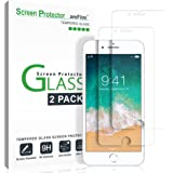 iPhone 6S Glass Screen Protector (2-Pack), amFilm iPhone 6 6S Screen Protector Tempered Glass [3D Touch Compatible] 0.3mm 2.5D Rounded Edge [Lifetime Warranty]