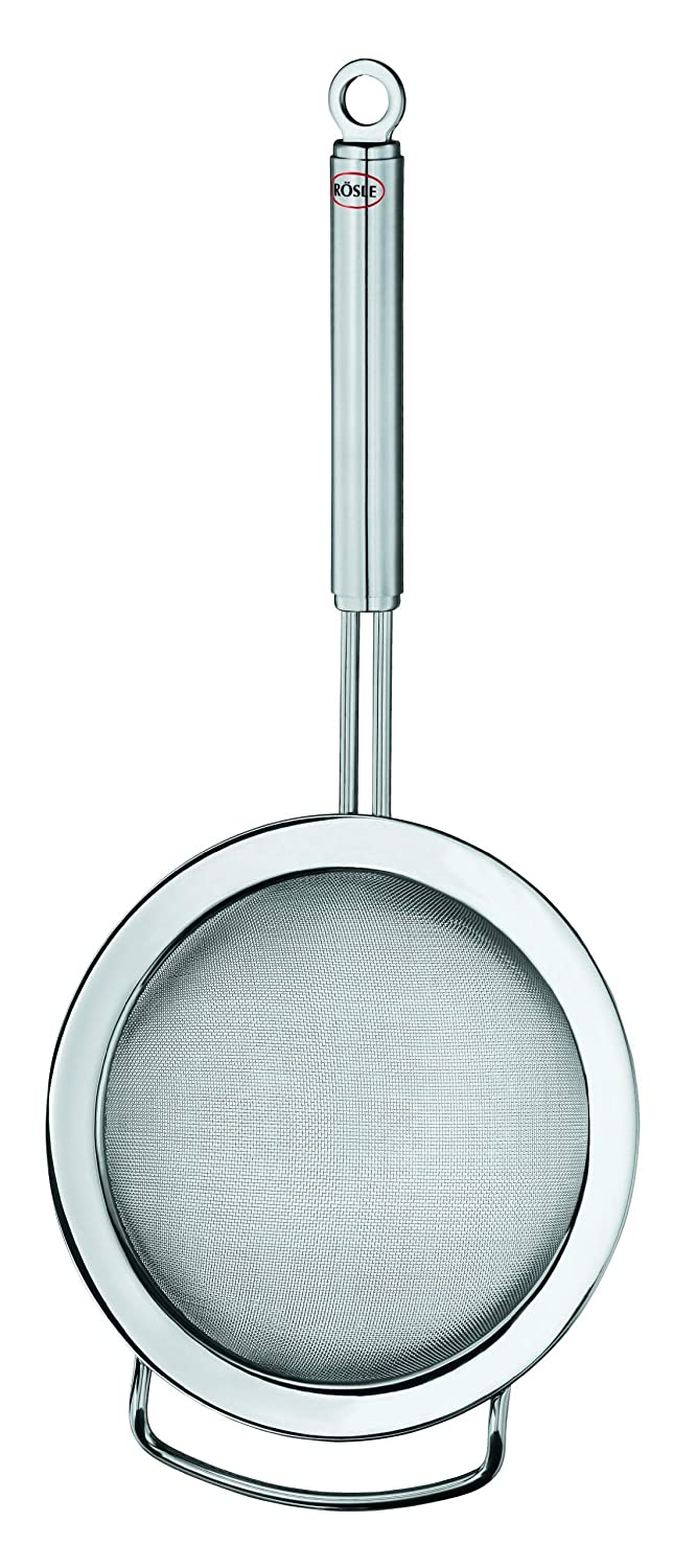Rösle Stainless Steel Conical Strainer, Wire Handle, 7.1-inch Rosle 23218
