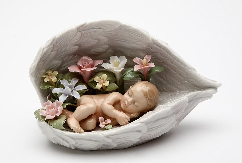 【美品】 Cosmos Gifts 20846 Baby Sleeping Gifts Baby on Angels B01FWO6DS6 Wings Figurine B01FWO6DS6, 壬生町:b1beebb4 --- arcego.dominiotemporario.com