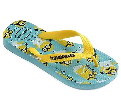 d88031a1c204a8 Havaianas Unisex Kids Minions Flip Flops  Amazon.co.uk  Shoes   Bags