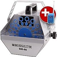 Showlite BM-60 maquina de pompas con mando distancia